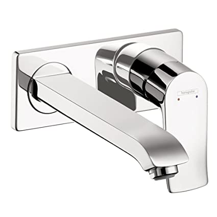 Hansgrohe 31086001 Metris Wall-Mounted Single Handle Faucet Trim ...