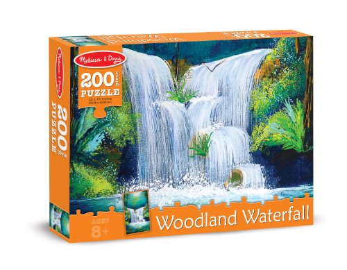 Melissa Doug Woodland Waterfall Jigsaw product image
