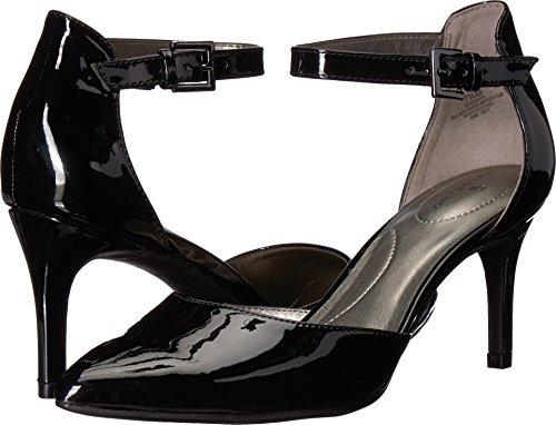 Patent Bandolino Pumps Leather (Bandolino Women's Ginata Light Grey Synthetic 10 W US)