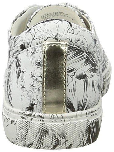 Kenneth Cole Kvinder Sneaker Var Hvid (hvid Blomstret 133) QYu8E20Cu2