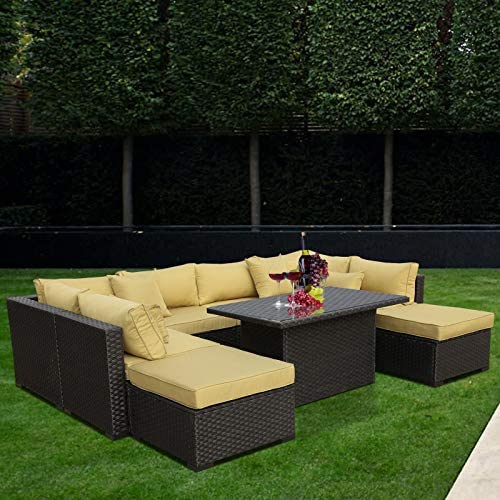 Outdoor PE Wicker Rattan Furniture Set