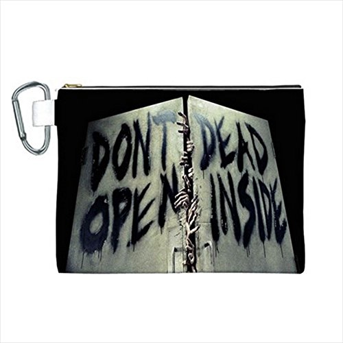 Don't Open Dead Inside Canvas Cosmetic Bag 10