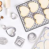 Cookie Cutters Set PHIAKLE Mini Geometric Shape
