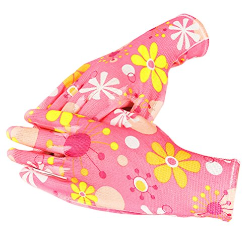 - Zhuhaitf Women Working Gloves for Gardening, Fishing, Construction and Restoration