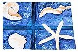 Seashells Yard Flag From Art