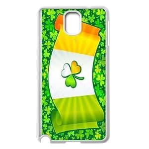 Custom LiuXueFei Phone caseLucky Clover For Samsung Galaxy NOTE3 Case Cover -Style-2