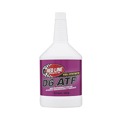 Red Line RED30704 D6 Automatic Transmission Fluid - 1 Quart: Automotive