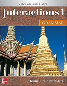Book Interactions 1 Grammar, Silver Edition (Student Book) by Elaine Kirn (2006-12-21)