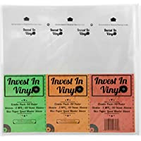 100 LP Sleeves Combo Pack (50 3 mil Outer & 50 Master Inner Sleeves) 33 rpm 12 Vinyl Record Sleeves Provide Your LP Collection with the Proper Protection - Invest In Vinyl