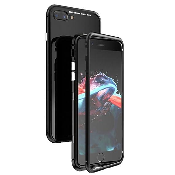 reputable site a6e27 5c425 Amazon.com: iPhone 7 Plus / 8 Plus Magnetic Case,MirrorAurora Ultra ...