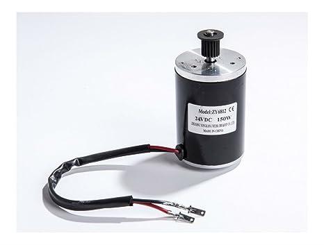 Amazon com : 150 W 24 V 12 V DC electric motor zy6812 f
