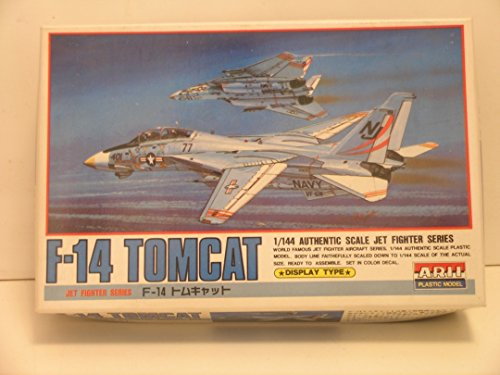 Arii Models---1/144 Scale F-14A Tomcat---Plastic Model Kit