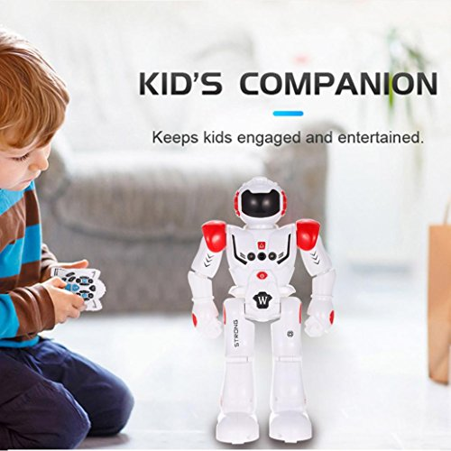 Charming Joykith Wi-fi Distant Management Robotic Youngsters RC Robotic Toy Senses Gesture, Sings, Dances, Talks, and Teaches Science (Pink)  Evaluations