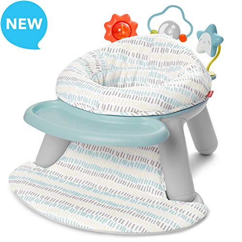 Skip Hop Baby Seat Silver Lining Cloud 2-in-1 Sit-up Chair & Activity Seat