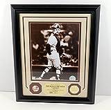 Highland Mint Thurman Munson Photo with Yankees Pin and Coin Framed DA025254