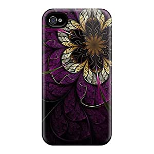 High Grade KarenJohnston Flexible Tpu Case For Iphone 4/4s - Pandora's Flower