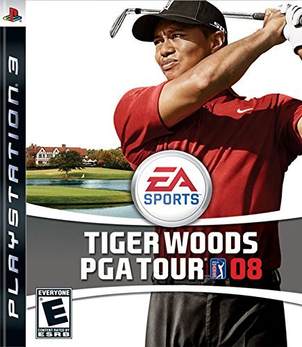 Tiger Woods PGA Tour 08 - Playstation 3 by Electronic Arts (Playstation Console Tiger)
