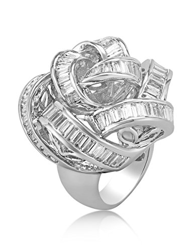 shaze Fashion Rose Ring|Gift for Her Birthday by shaze