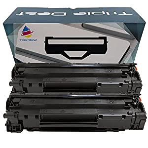Triple Best Set of 2 CF279A Black Compatible Laser Toner Cartridge for the replacement of HP CF279A ( HP 79A ) Black Toner Cartridge for HP LaserJet Pro M12w M12a MFP M26nw MFP M26a Printers
