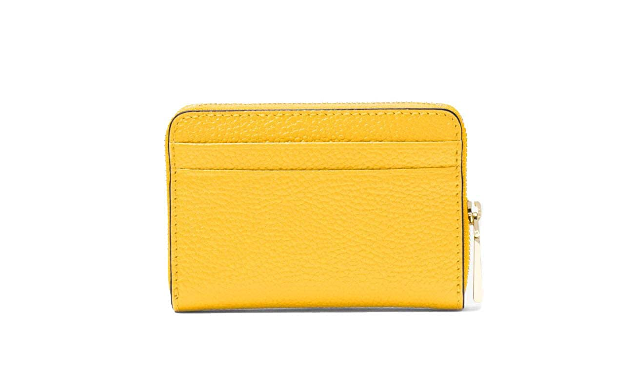 68f4ce65fde9b5 MICHAEL by Michael Kors Mercer Sunflower Zip Around Coin Card Case one size  Sunflower: Amazon.co.uk: Clothing