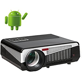 Amazon.com: 2020 Bluetooth Projector WiFi Android LCD LED ...