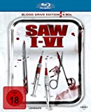 Saw 1-6 Blood Drive Edition [Blu-ray] [Import allemand]