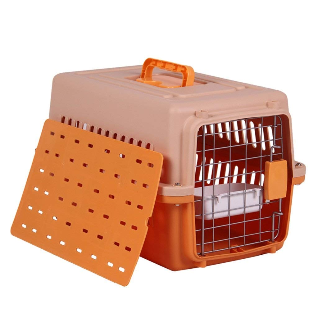 LYLa Stylish Portable Pets Aviation Box Transport Box Comfortable and Durable Pet Out Box Suitable for Cats and Small Dogs