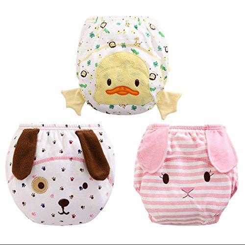 Elephant Unisex Baby Training Underwear Assortment