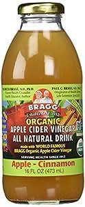 Amazon.com : Bragg Organic Apple Cinnamon Apple Cider