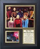 """Legends Never Die """"Star Trek: Next Generation Crew Framed Photo Collage, 11 x 14-Inch"""
