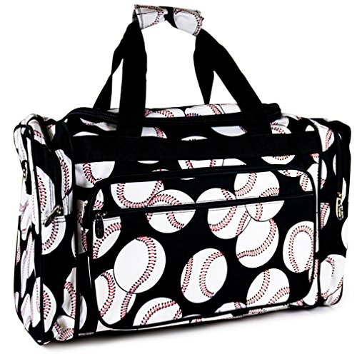 NGIL Baseball Print Duffle Bag Review