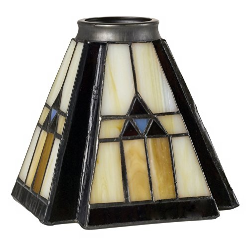 """Universal Lighting 2 1/4"""" Fitter Set of 4 Classic Mission..."""