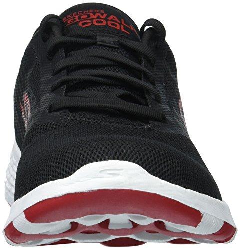 Skechers Black Cool 54651 Skechers Mens Sneaker Red Walk Go Mens RdawPR