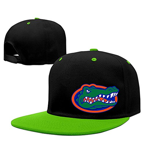 Kep Florida Gators Football Jim McElwain Fitted Hats KellyGreen