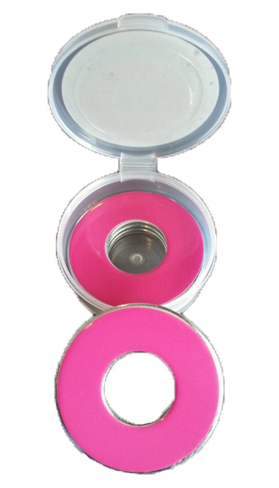 Inkin It Up Hot Pink Pitching Washers W/Case by Inkin It Up