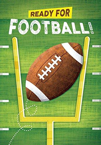 Ready for Football Garden Flag Fall Touchdown Sports 12.5