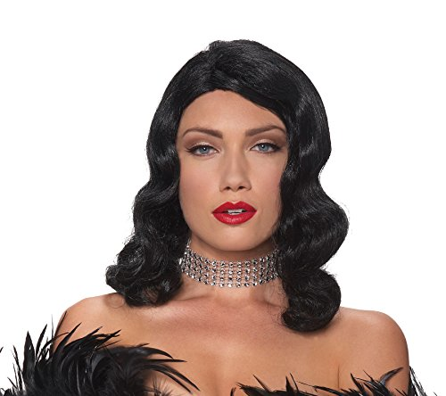 UHC 20's Femme Fatale Glamour Actress Wig Halloween