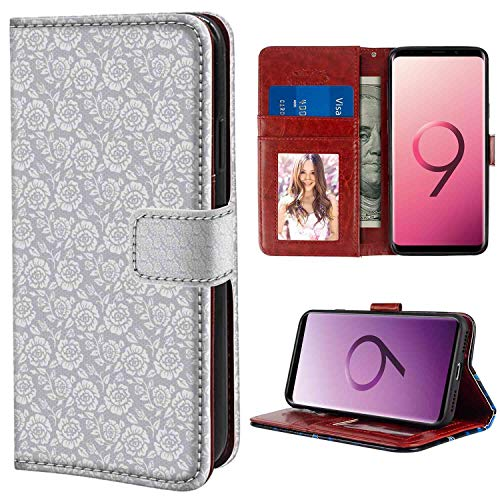 Wallet Phone Case Compatible for Galaxy S9 Plus (6.2