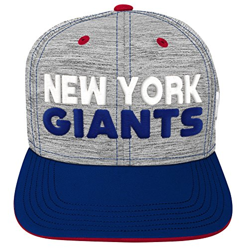 800808d9 Outerstuff NFL NFL New York Giants Youth Boys Space Dye Snapback Hat  Heather Gre.