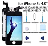 proximity sensor iphone 4 - for iPhone 5S Screen Replacement Black - 4.0