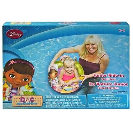 Amazon Com Doc Mcstuffins Junior Ride In Float Seat Toys Games