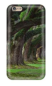 High Quality AnnDavidson Green Tree Arc Skin Case Cover Specially Designed For Iphone - 6