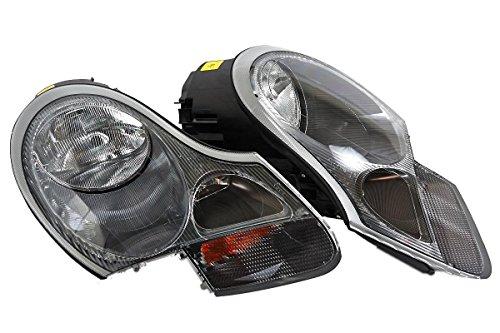 Porsche Boxter 986 USA Type 1999-2004 Headlights Front Lamps PAIR LH+RH OEM ()