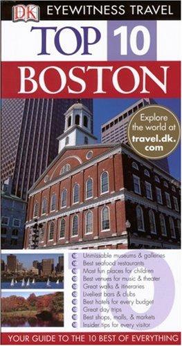 Boston (Eyewitness Top 10 Travel Guides)