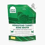 Open Farm Homestead Turkey Bone Broth for Dogs