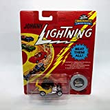 Johnny Lightning T.N.T. (Yellow) TNT Commemoratives Series 2 Limited Edition 1995 Playing Mantis 1:64 Scale Die Cast Vehicle
