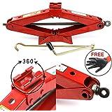 Dr.Roc Premium RustProof Lifting Scissor Jack 2 Ton(Standard)