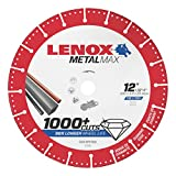 Lenox Tools 1972930 METALMAX Diamond Edge Cutoff Wheel, 12'' x 1''