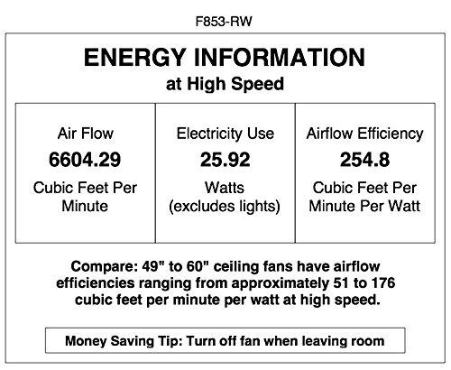 "Minka-Aire F853-RW, Aviation, 60"" Ceiling Fan, Rosewood"