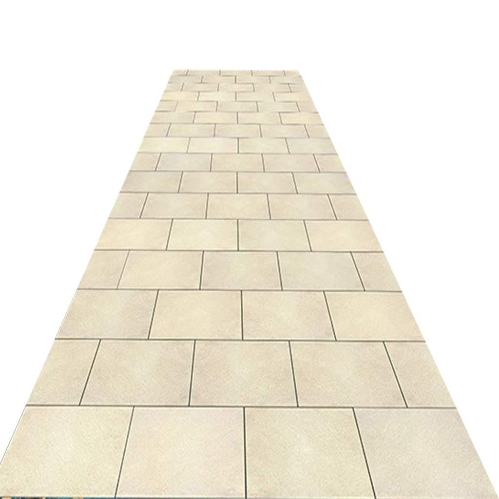 ランナーカーペット廊下エントランスマット玄関廊下通路柔らかい滑り止め薄いクリーム色の白 (サイズ さいず : 1.4*5m) 1.4*5m  B07PXBPQ7Q